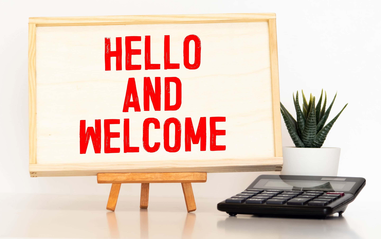 hello et welcome
