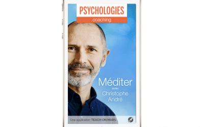 Application «Méditer avec Christophe André», retour sur un succès