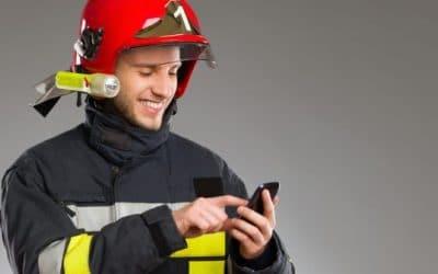 La formation mobile des pompiers