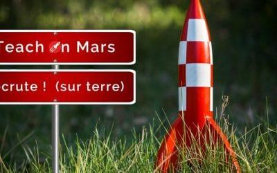 Rejoignez les aventures spatiales de Teach on Mars : Embarquement de nouvelles recrues !