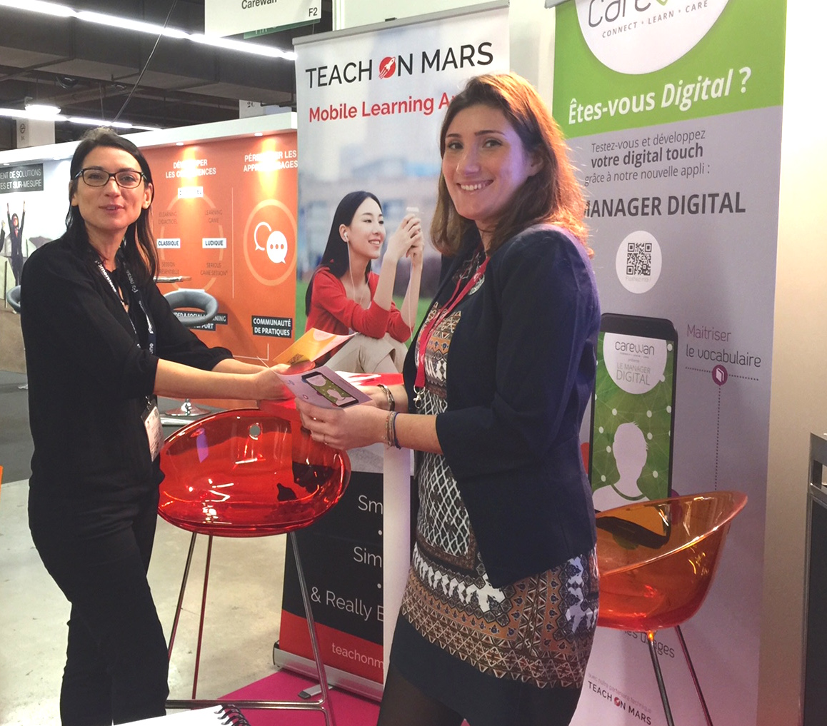 Tiphaine et Marion iLearning Forum 2016