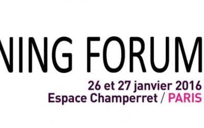 Teach on Mars au iLearning Forum Paris 2016 !