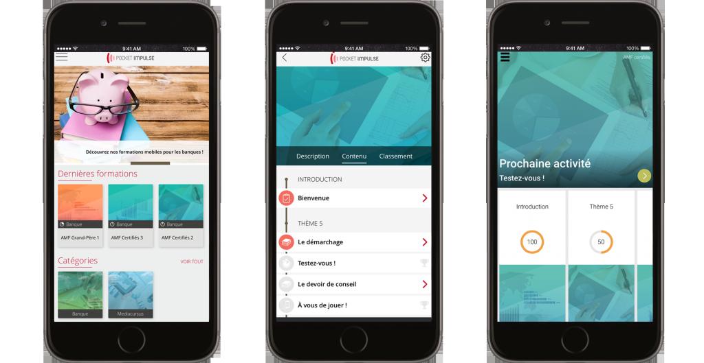 L'app Pocket Impulse pour certification AMF, primée au Salon Banque & Innovation