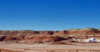 Paysage martien désert Utah