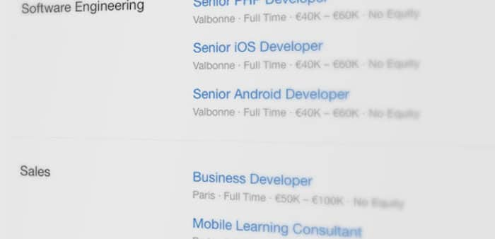 Talents recherchés dans le monde du Mobile Learning