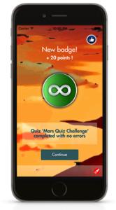 Mars Quiz Challenge Mobile App