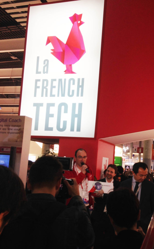 "Mobile World Congress Barcelone 2017 - Teach on Mars reçoit le prix ""Coup de Coeur"" au Business France Orange Awards"