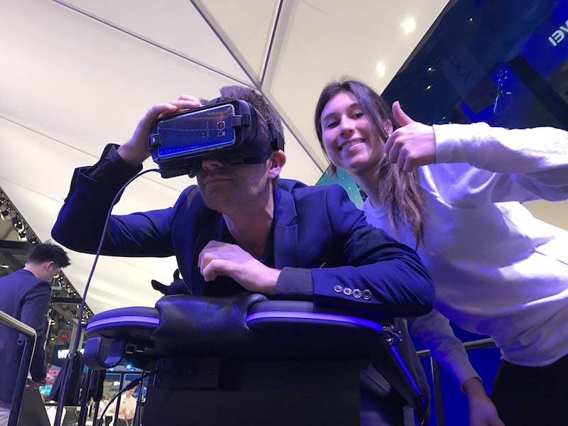 Mobile World Congress Barcelone 2017 - Teach on Mars et la réalité virtuelle