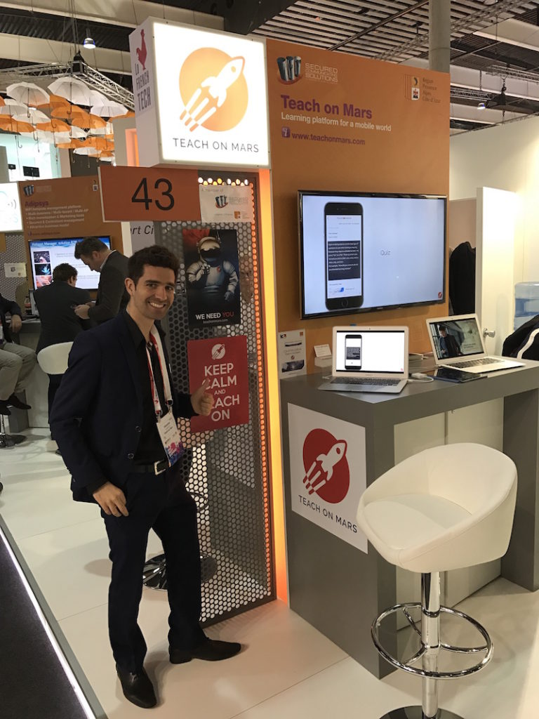 Mobile World Congress Barcelone 2017 - Stand de Teach on Mars