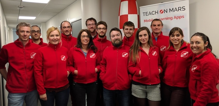 Teach on Mars lève des fonds: l'équipe