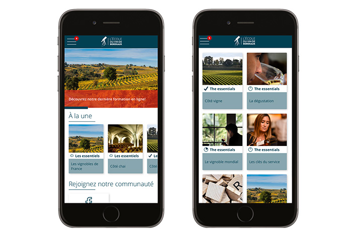 L'application OenoBordeaux