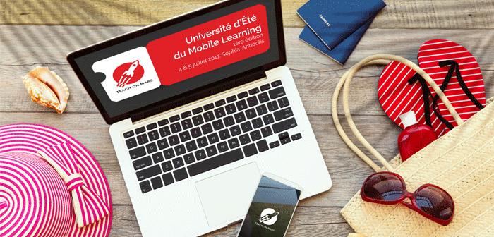 Université d'ete mobile learning Teach on Mars 2017