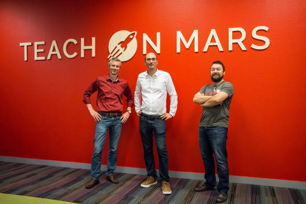 BornToFly : Teach on Mars, Beepeers and Option Way inauguate new premices