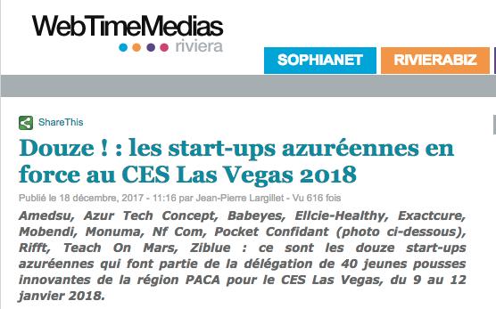 Web Time Media CES