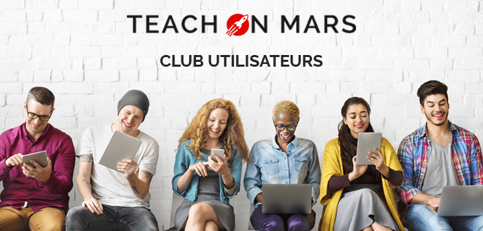 club utilisateurs teach on mars cover