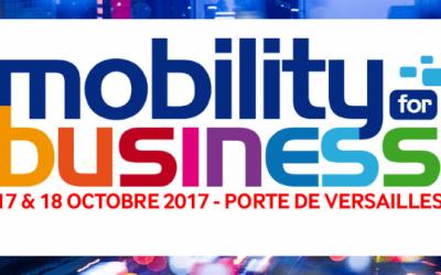 Participation de Teach on Mars au salon Mobility for Business
