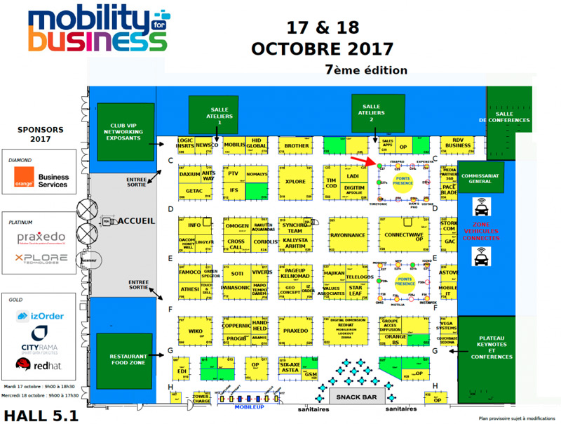 plan-mobility-for-business-porte de versailles 2017