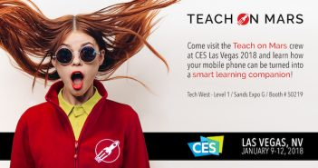CES banner Teach on Mars