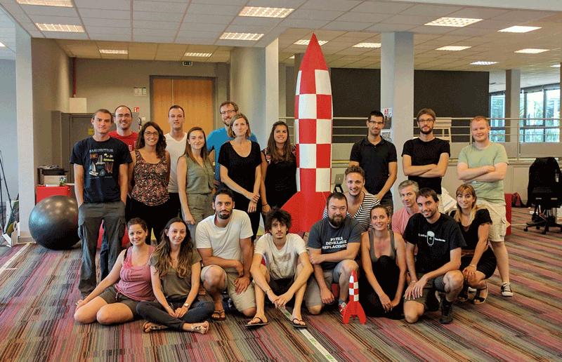 A look back at 2017 Teach on Mars : new headquarter at Business Pole Sophia Antipolis
