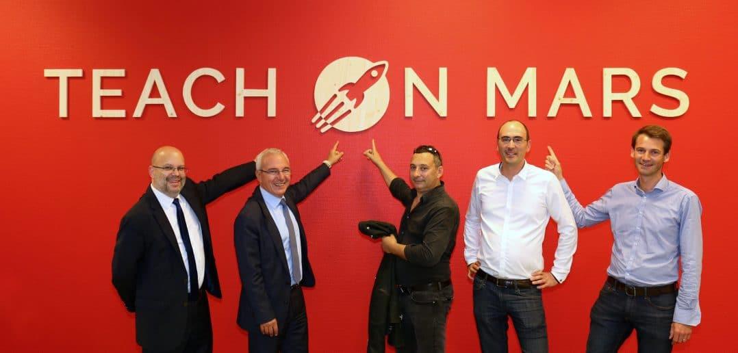 Teach on Mars launch of new headquarter at Business Pole Sophia Antipolis