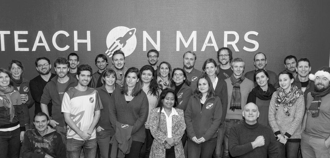 A look back at 2017 Teach on Mars : the team