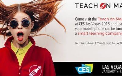 Teach on Mars s'envole à Las Vegas pour le CES 2018