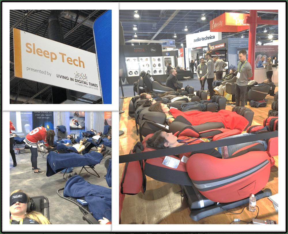 La sleep tech au CES Las Vegas 2018