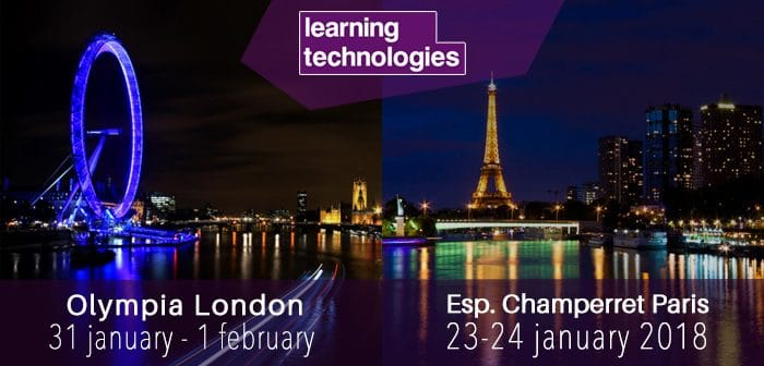 Teach on Mars at Learning technologies 2018 London and Paris