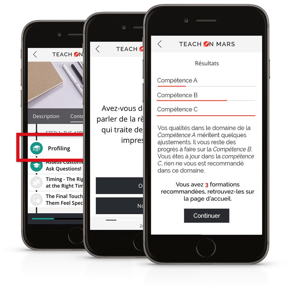 Skill assessment app