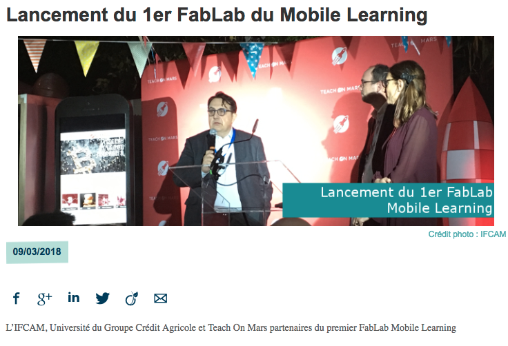 Article FabLab Tribuca