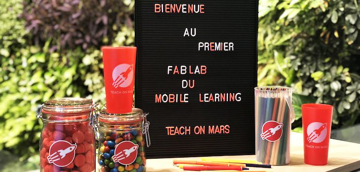 Fab Lab - Teach on Mars - ateliers thématiques mobile learning