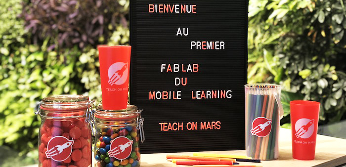 Fab Lab - Teach on Mars - mobile learning