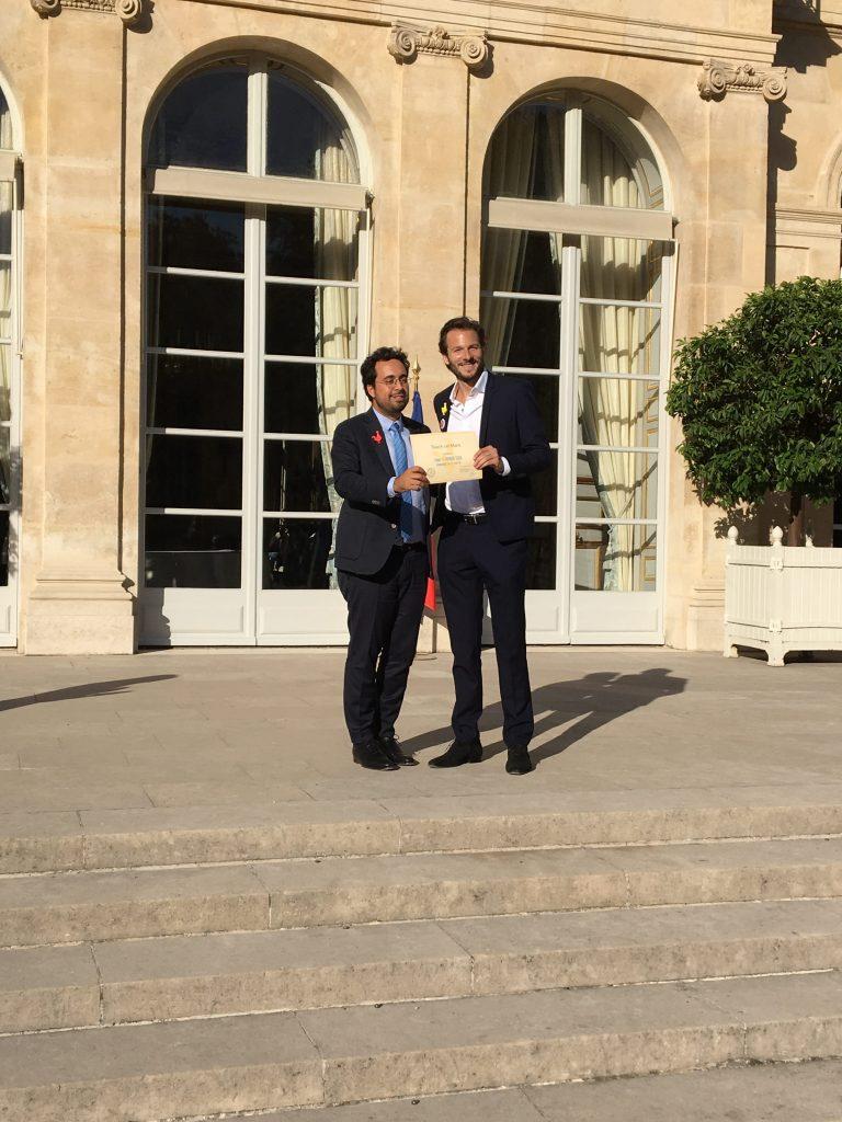 Mounir Mahjoubi et Pierre Peigne