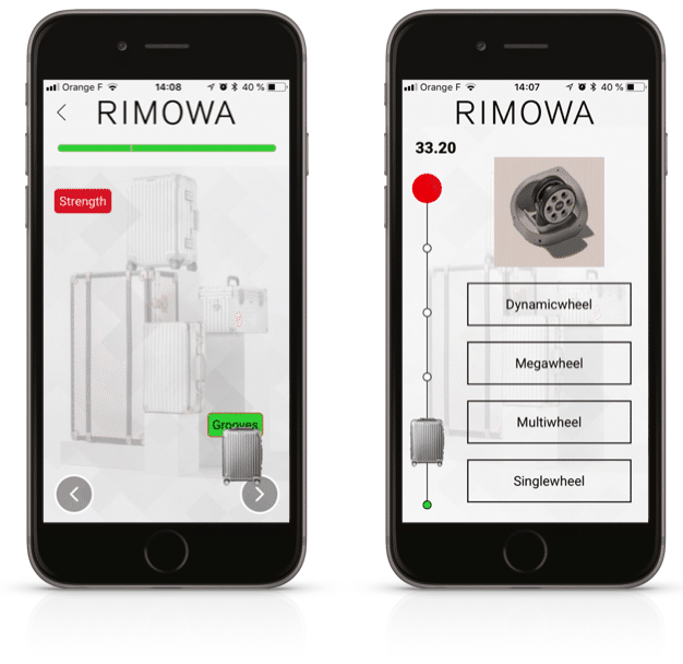 application mobile learning rimowa