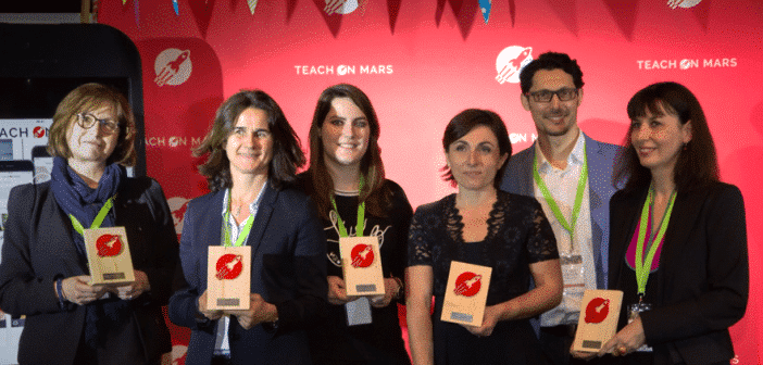 lauréats des mobile learning awards 2018
