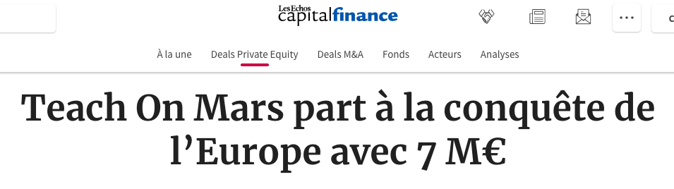 article levee de fonds 2019 capital finance