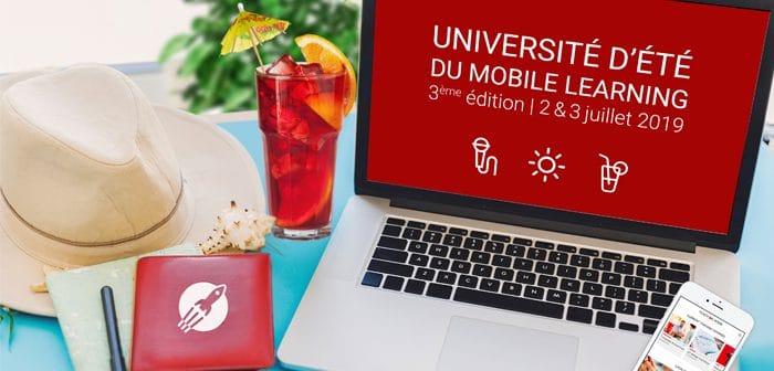 dates univeriste d'ete du mobile learning 2019
