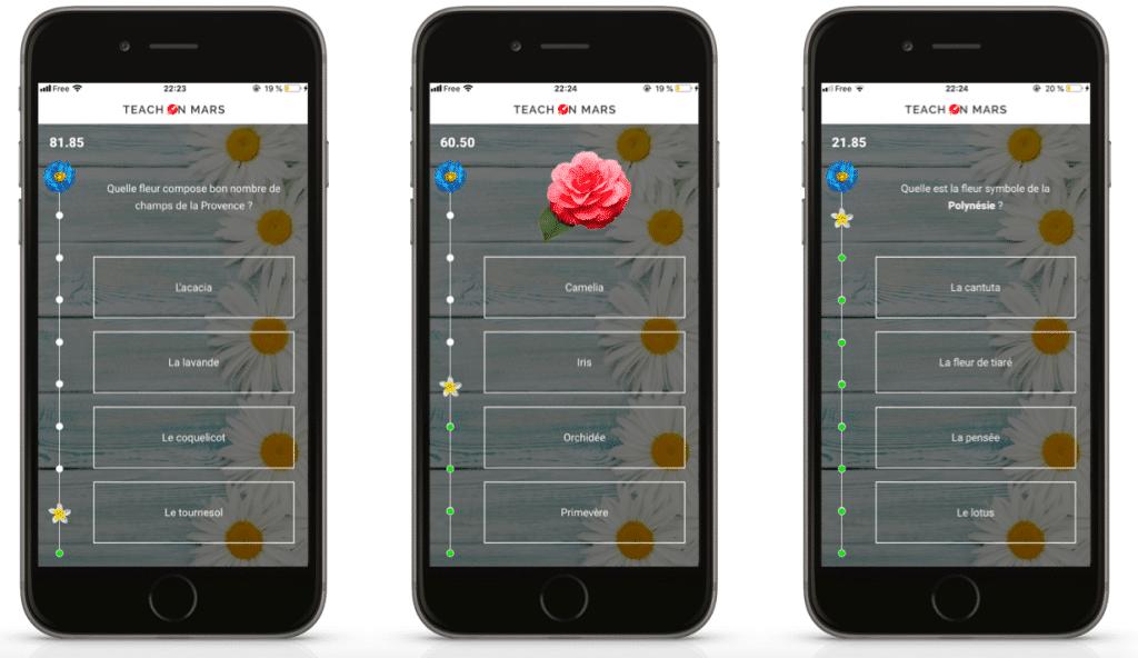 Flower Battle ToM App