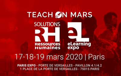 Teach on Mars redefines the way we deliver training at the Solutions RH eLearning Expo trade show in Paris