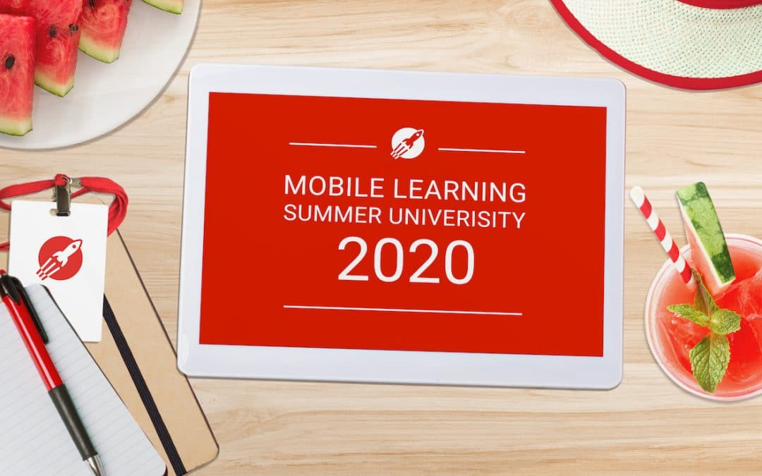 [Save the Date] Don't miss the 4th edition of the Mobile Learning Summer University