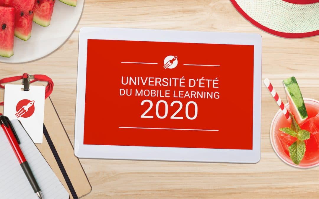 universite ete du mobile learning teach on mars 2020
