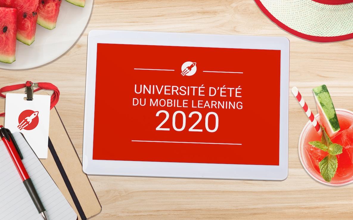 universite ete du mobile learning teach on mars 2020