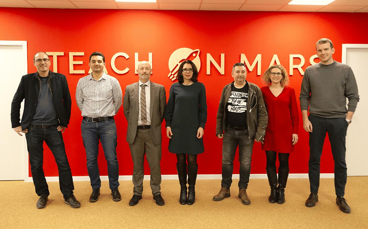partenariat teach on mars inria intelligence artificielle formation