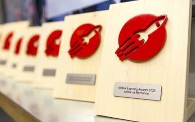 Révélation des lauréats de l'édition 2020 des Mobile Learning Awards