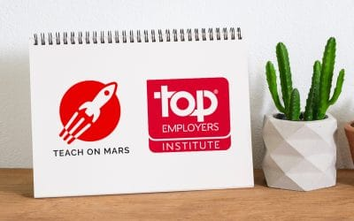 Transformation of training by Teach on Mars and Top Employers Institute