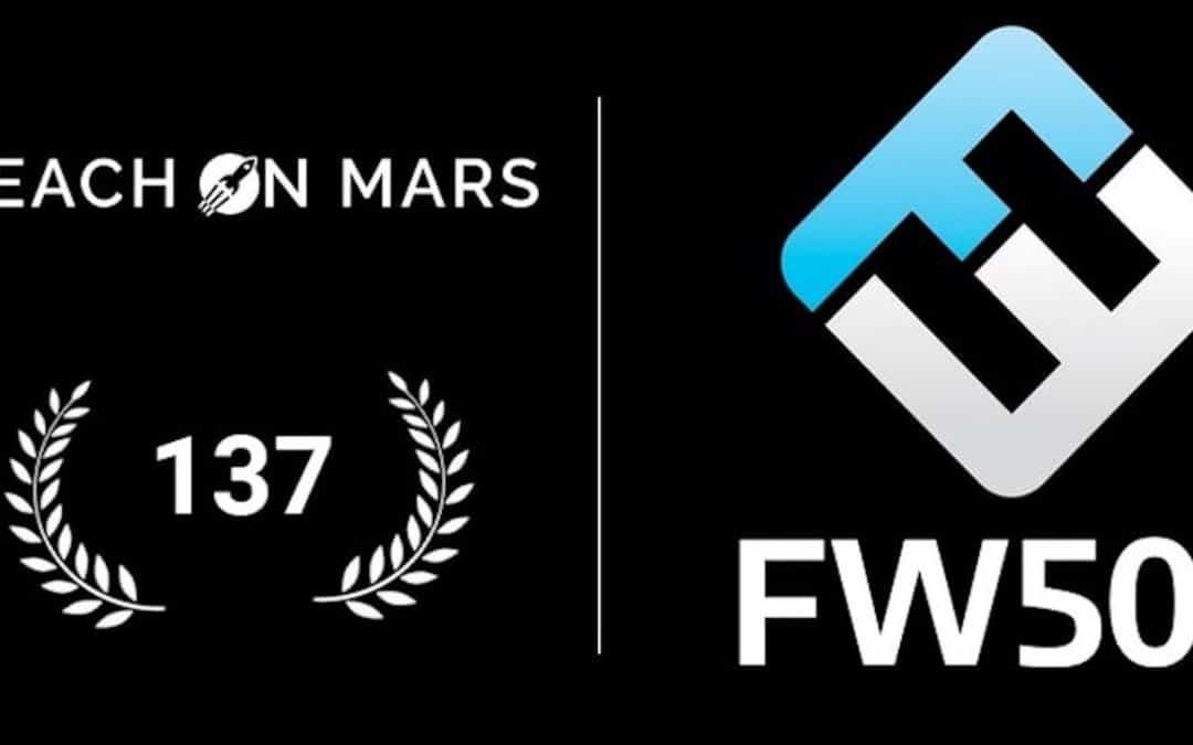 FrenchWeb 500 : Teach on Mars se hisse à la 137ème place !