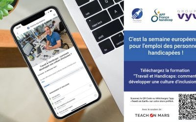 Teach on Earth s'engage pour l'emploi des personnes en situation de handicap