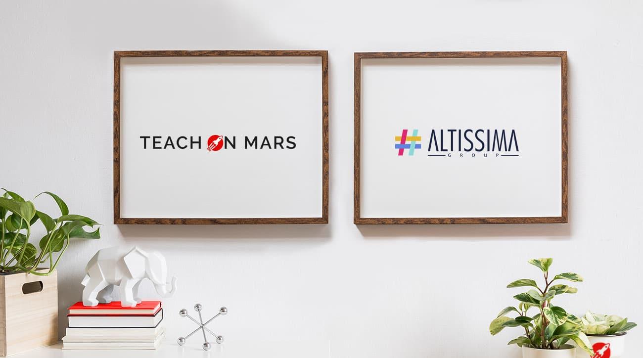 partenariat teach on mars et altissima