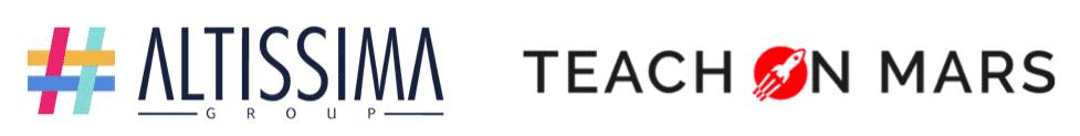 logos altissima teach on mars partenariat