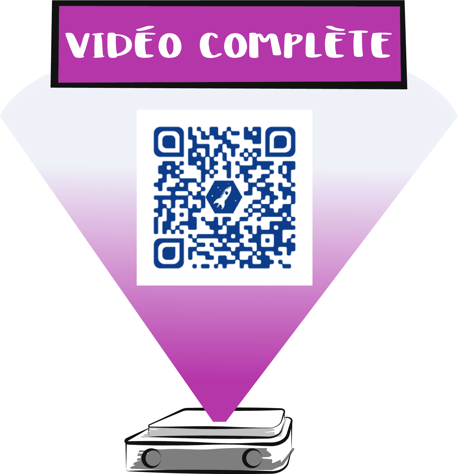 qr code video complete roche